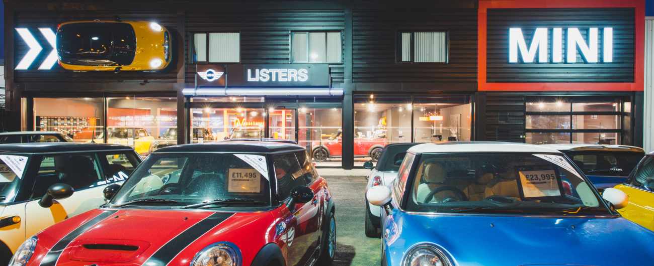 Listers BMW Mini Showroom Kings Lynn