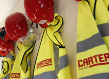 PPE equipment R G Carter