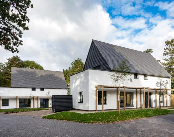 Carrowbreck housing passivhaus