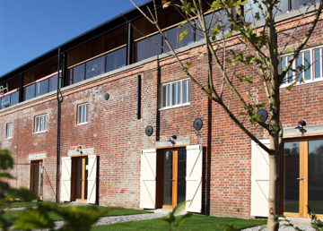 Snape maltings housing