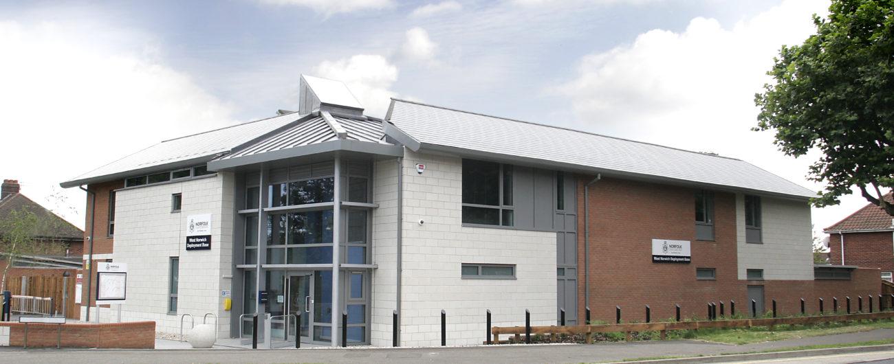 Earlham road police station