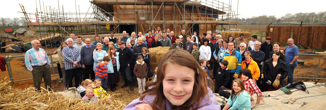 victory hall neatishead community straw building