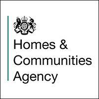 Homes & Communities Agency - Logo
