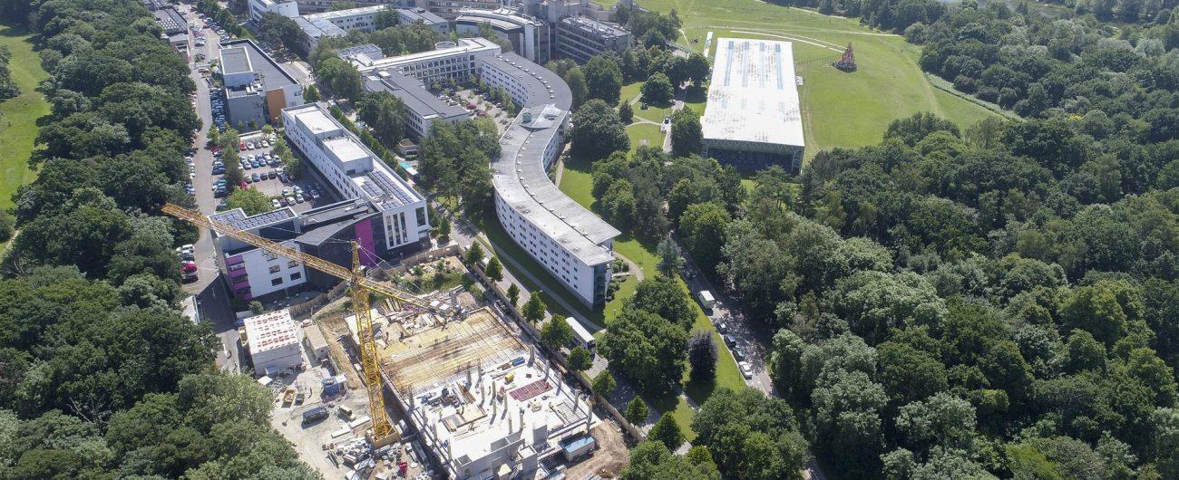 UEA Building 60 - Aerial 1