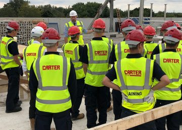 Apprentices visit Building 60