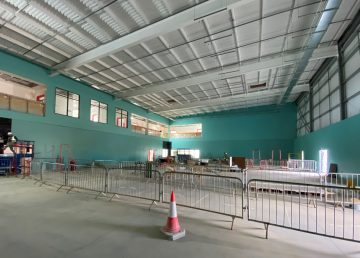 Colchester Hub Sports Hall R G Carter