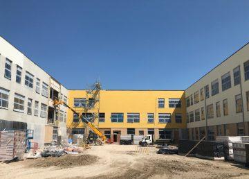 Mildenahall Academy in progress R G Carter