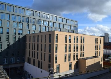 Crown place student accommodation
