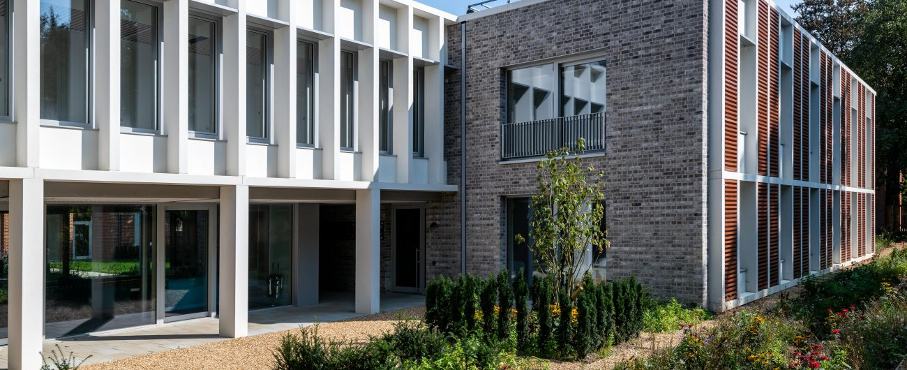 Cranmer Rd Passivhaus Accommodation by R G Carter
