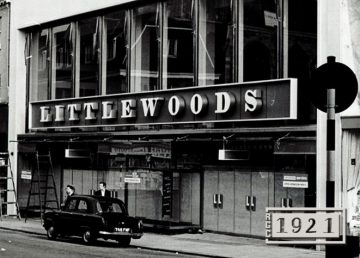 Norwich Littlewoods store completed by R G Carter in 1963