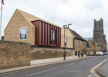 Ely Museum refurbishment by R G Carter