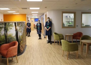 QEH Cancer Wellbeing Support Centre refurbished by R G Carter