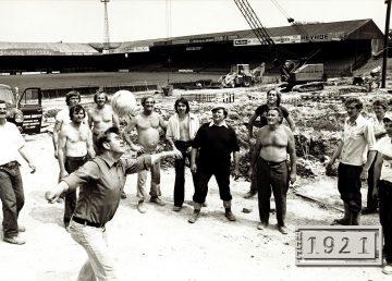 R G Carter at Norwich City Football Club 1977